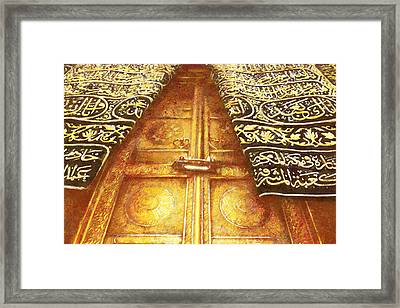 Islamic Painting 008 Framed Print by Catf