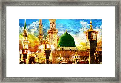 Islamic Paintings 005 Framed Print by Catf