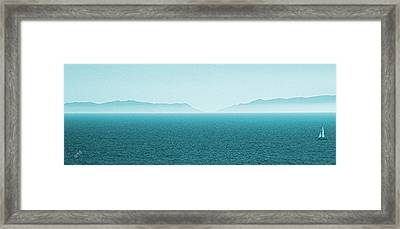 Island Framed Print by Ben and Raisa Gertsberg