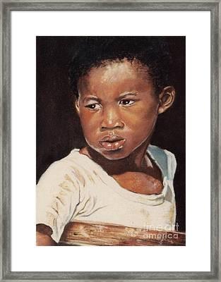 Island Boy Framed Print by John Clark