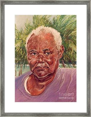 Island Fisherman Framed Print by John Clark