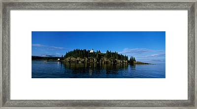 Island In The Sea, Bear Island Framed Print by Panoramic Images