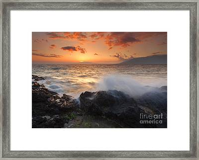 Island Paradise Framed Print by Mike  Dawson