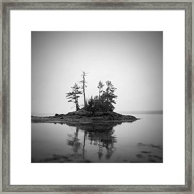 Island Framed Print by Patrick Downey