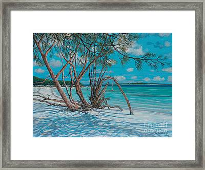 Island Time Framed Print by Danielle  Perry