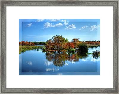 Islands In The Sun Framed Print by Debra and Dave Vanderlaan
