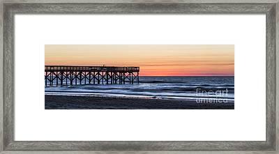 Isle Of Palms Sunrise  Framed Print by Dustin K Ryan