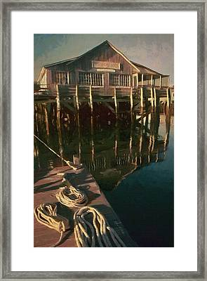 Islesford Dock Framed Print by Jeff Kolker