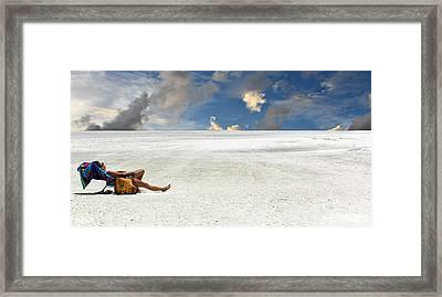 Isn't Life Strange Framed Print by Laura Fasulo