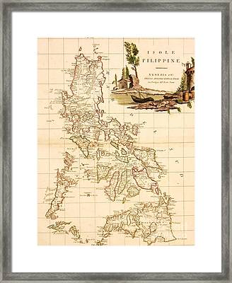 Isole  Filippine Framed Print by Pg Reproductions