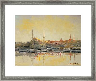 Istanbul- Hagia Sophia Framed Print by Luke Karcz