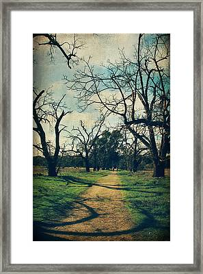 It All Depends Framed Print by Laurie Search