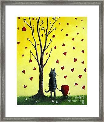 It Must Be Love By Shawna Erback Framed Print by Shawna Erback
