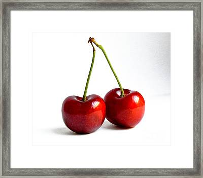 It Takes 2 Framed Print by Sarah Christian
