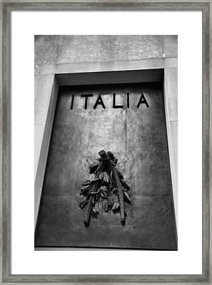 Italia Framed Print by Dan Sproul