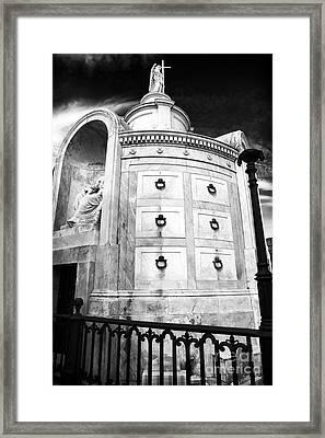 Italia Society Framed Print by John Rizzuto