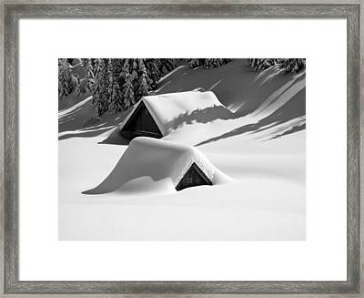 Italian Blizzard Framed Print by Mountain Dreams