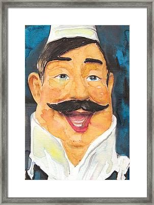 Italian Chef Framed Print by Susan Powell