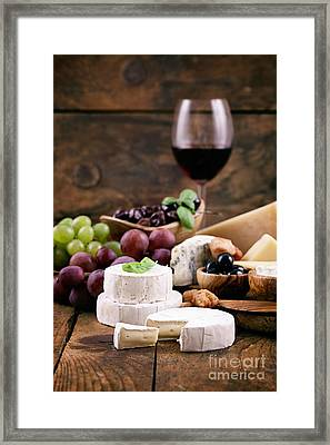 Italian Cooking Framed Print by Mythja  Photography