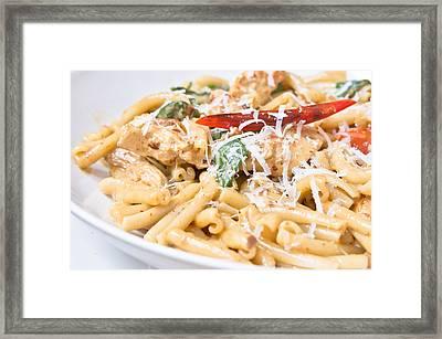 Italian Dish Framed Print by Tom Gowanlock