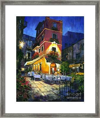 Italian Nights Framed Print by Michael Swanson