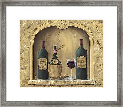 Italian Reds Framed Print by Marilyn Dunlap