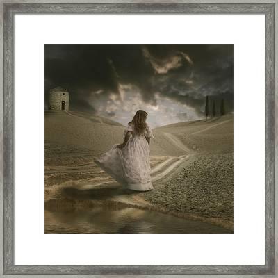 Italian Scenery Framed Print by Joana Kruse