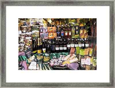 Italian Treats In Venice Framed Print by John Rizzuto