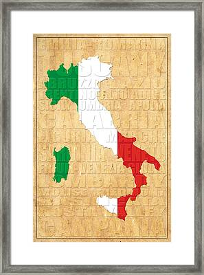 Italy Framed Print by Andrew Fare