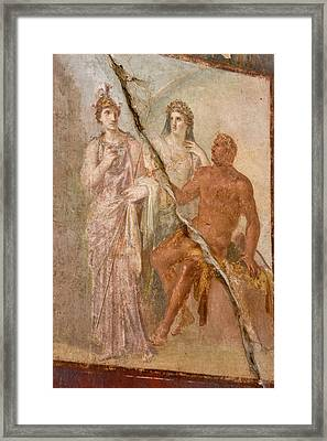 Italy, Campania, Herculaneum Framed Print by Jaynes Gallery