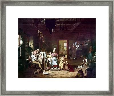 Itinerant Painter, C1815 Framed Print by Granger