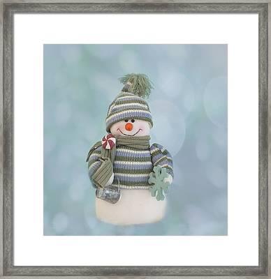 It's A Holly Jolly Christmas Framed Print by Kim Hojnacki