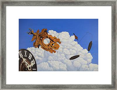 It's About Time Framed Print by Roger Feltman