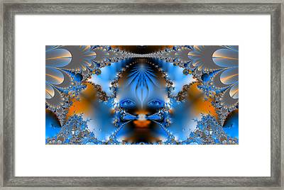 Its All In The Eyes Framed Print by Ian Mitchell