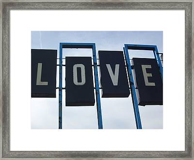 It's All You Need Framed Print by Guy Ricketts