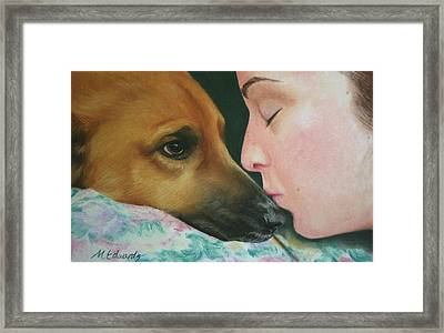 It's Alright Framed Print by Marna Edwards Flavell
