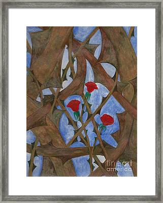 It's Complicated Framed Print by Robert Meszaros