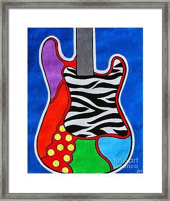 It's Electric Acrylic By Diana Sainz Framed Print by Diana Sainz