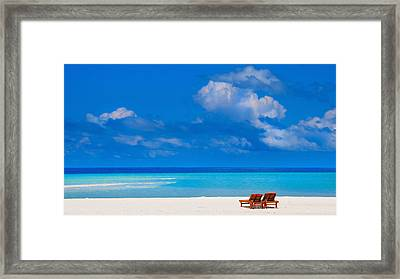 Its That Simple Framed Print by Jenny Rainbow