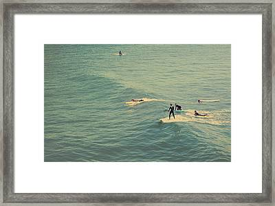 It's The Ride Framed Print by Laurie Search