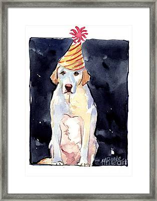 It's Your Birthday Framed Print by Molly Poole