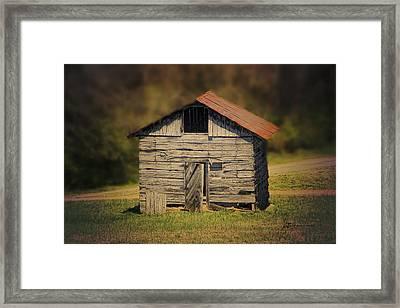 Itsy Bitsy Cabin Framed Print by EricaMaxine  Price