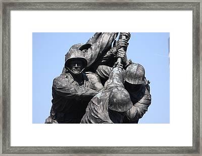 Iwo Jima Memorial - 12124 Framed Print by DC Photographer