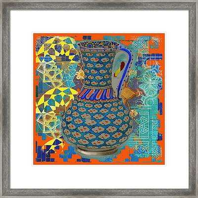 Iznik Love Framed Print by S Seema Z