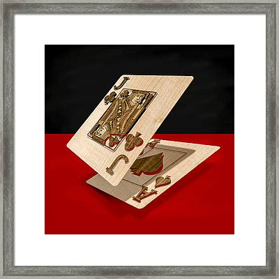 Jack And Ace Framed Print by YoPedro