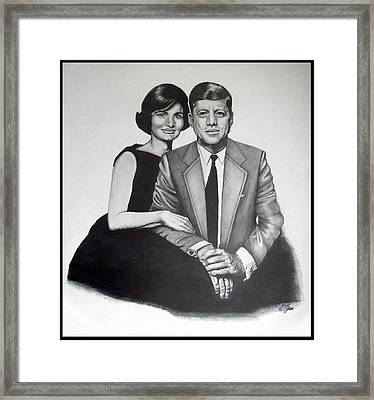 Jack And Jackie Framed Print by Sandra Gale