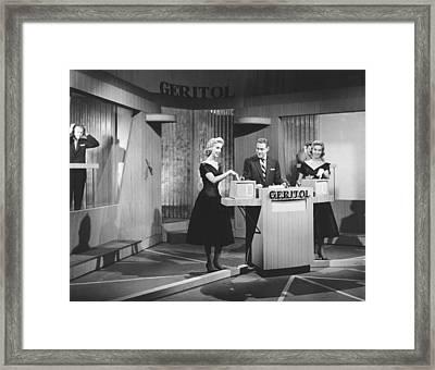 Jack Barry Host Of Twenty One Framed Print by Underwood Archives