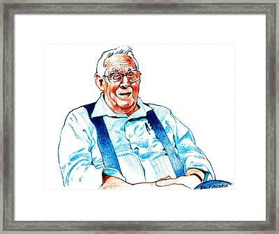 Jack Calhoun Framed Print by Dale Michels