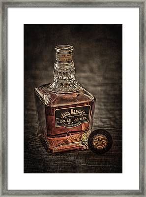Jack Daniel's Single Barrel Framed Print by Erik Brede