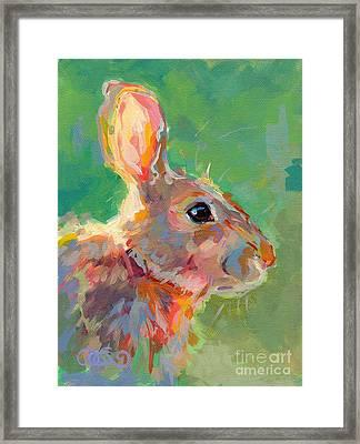 Jack Framed Print by Kimberly Santini